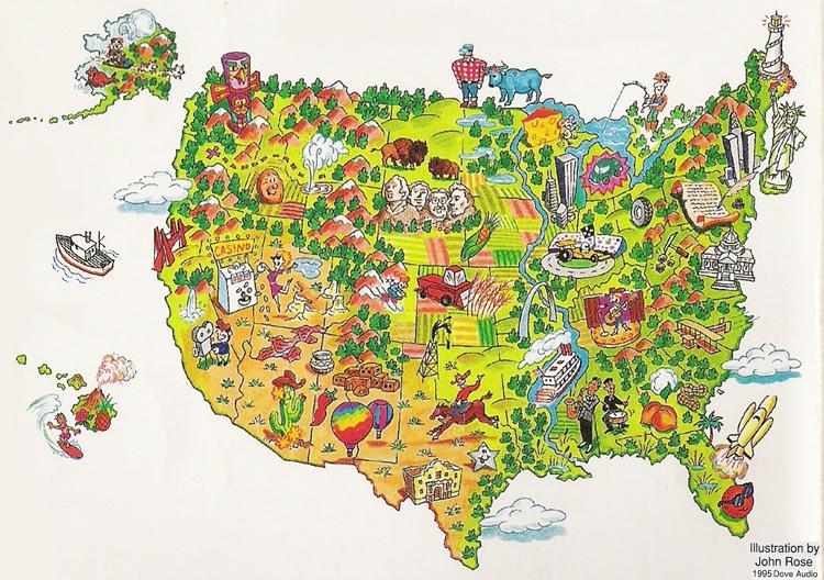 USA - Put us on the map